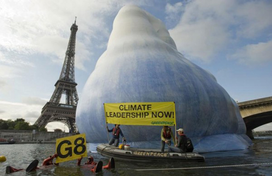 Greenpeace3 Greenpeace: Iceberg droit devant !!