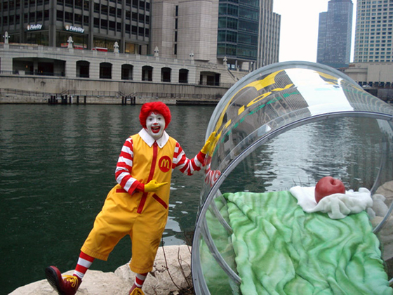 Mc Do Chicago River Mc Donalds se met au vert !