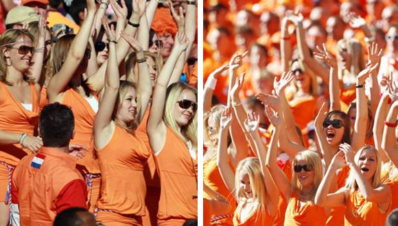 Supportices orange bavaria1 Bavaria: le mystère de la petite robe orange ...