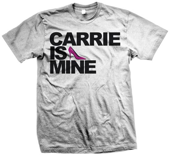 T shirt Carrie is Mine 560x516 Femmecougar.com : Carrie is mine !