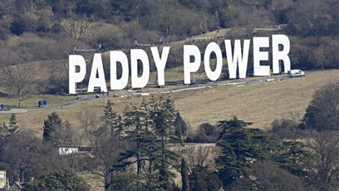 Paddy Power nouveau hollywood