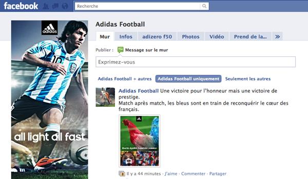Adidas Ambush1 Coupe du monde: Adidas contre attaque !