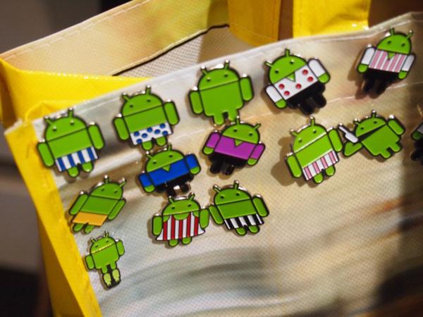 pin 3 Android remet les pins au gout du jour !
