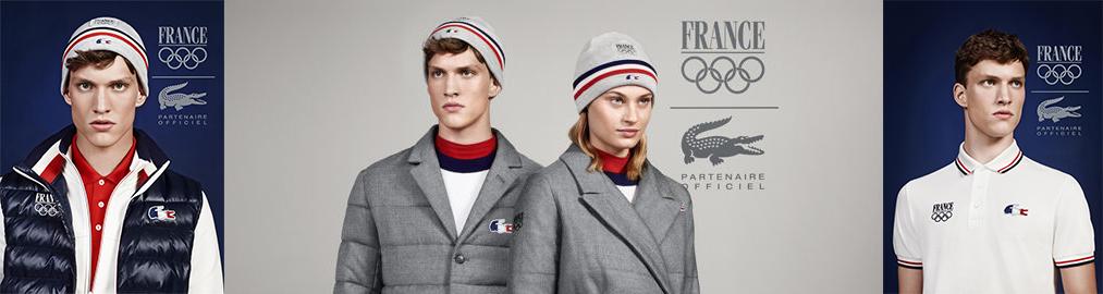 lacoste Lacoste aux couleurs des Jeux Olympiques