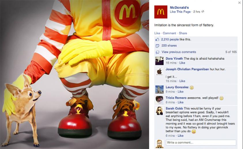 mcdonalds taco bell 02 2014 copie Le petit déjeuner préféré de Ronald McDonald