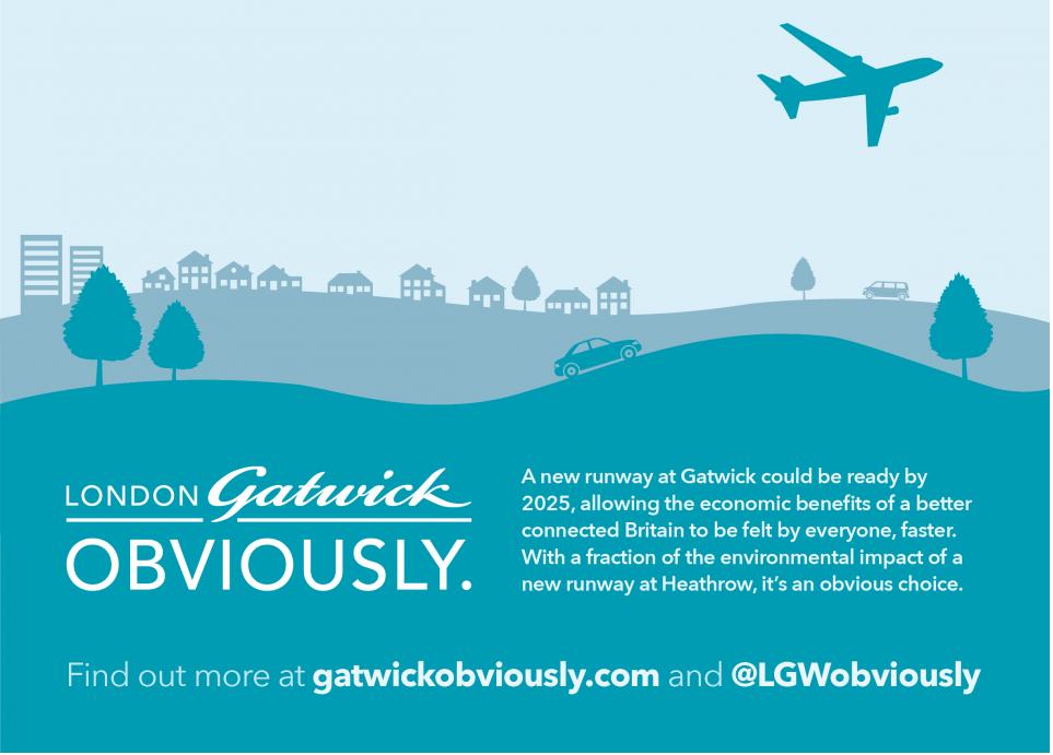 Gatwick Obviously 1 La guerre des aéroports